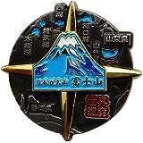 日本百名山[ピンバッジ]回転ピンズ/富士山 夏 エイコー トレッキング 登山 グッズ 通販