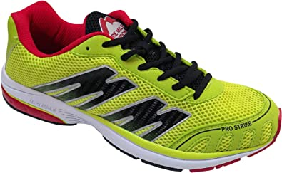 London Mile 7 Pro Running More Strike ShoesLimeblackUk 5 v0m8Nnw