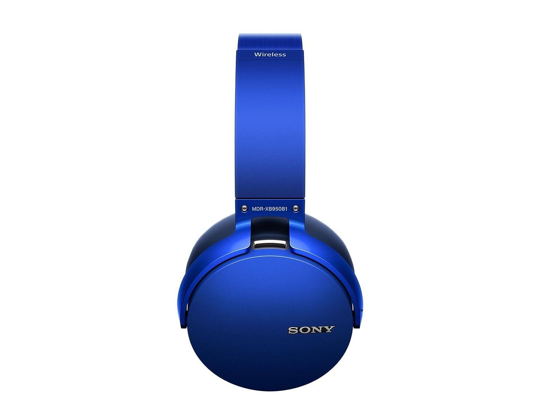 Auriculares inalámbricos extra bajos Sony XB950B1 con control de aplicación, azul: Amazon.es: Electrónica