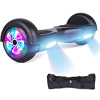 """YHR Hoverboard Flashing Wheel Hover Board 6.5"""" Self Balancing Scooter -UL Certified with Free Bag"""