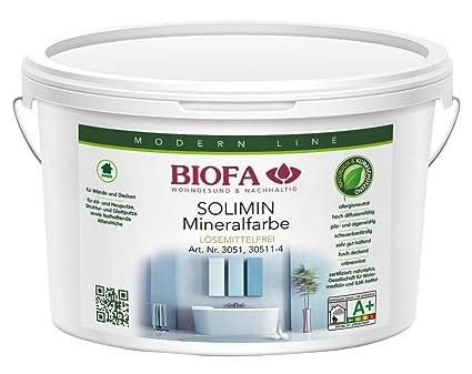 Biofa Solimin Silicate Paint White 10L: Amazon co uk: DIY & Tools