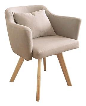 Menzzo - Silla/sillón Dantes de Estilo escandinavo con ...
