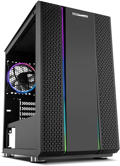 Nox Hummer Fusion S - NXHUMMERFSNS - Caja PC, ARGB, USB 3.0, Color ...