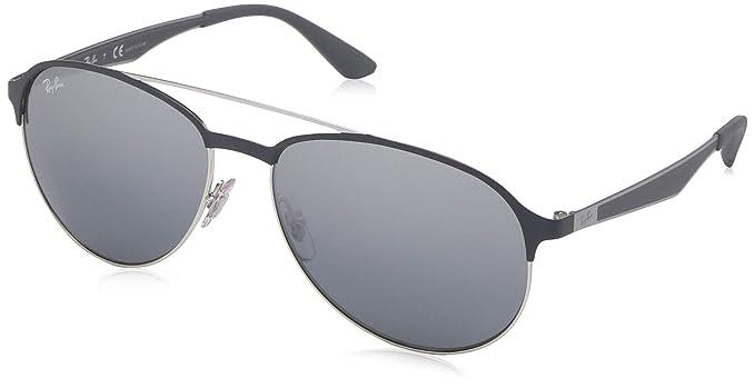 93ce0dd4a5 Rayban UV Protected Aviator Men's Sunglasses - (8053672970395|59 ...