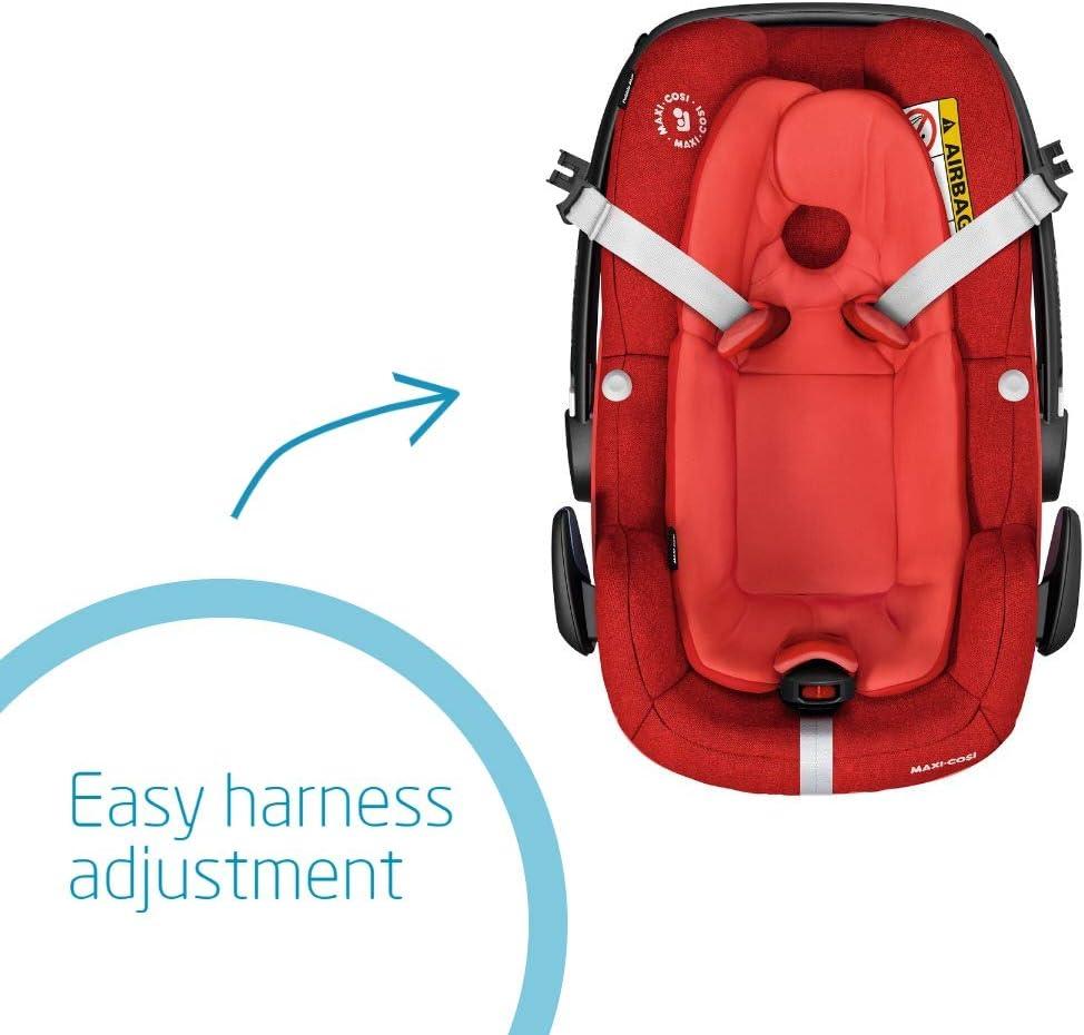 i-Size 0-13 kg Maxi-Cosi Pebble Plus Baby Car Seat Group 0+ Sand ISOFIX Car Seat 45-75 cm 0-12 m