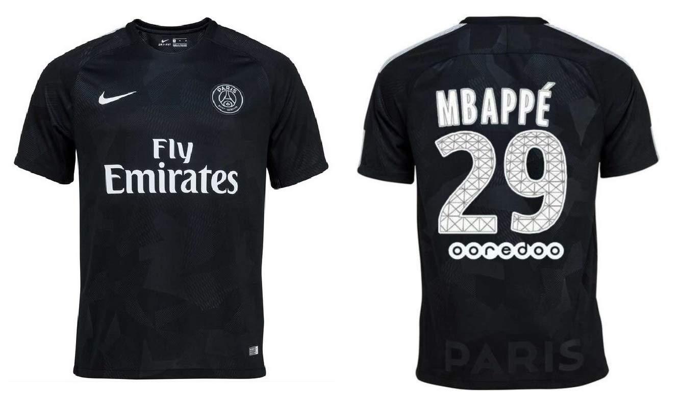 PSG Trikot Kinder 2017-2018 Third - Mbappe 29
