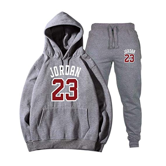 Jordan 23 Men Sportswear Men Hoodie Pullover Mens Tracksuit Sweatshirts Clothing at Amazon Mens Clothing store:
