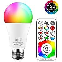 iLCBombilla Colores LED 120 Colores E27 10 Watt