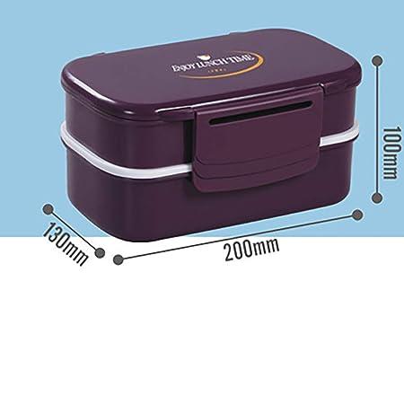 FANHE Recipiente plástico para Alimentos de 2 Capas PP/contenedor ...
