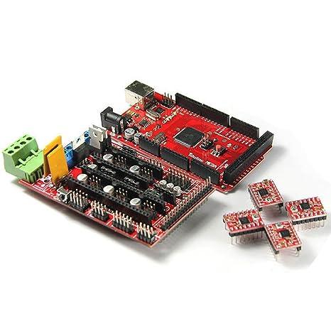 Solu Ramps1,4 + Arduino Mega 2560 A4988 3d impresora stepper ...