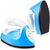 Mini Heat Press Machine Mini Iron Press Mini Heat Press Portable Handy Heat Press Mini Iron with Charging Base…