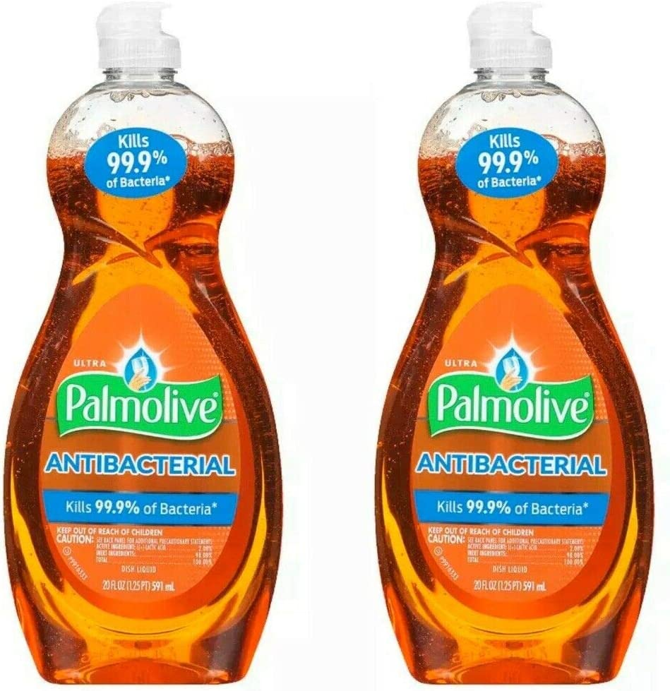 Palmolive Ultra Dish Soap, Orange (Pack of 2)
