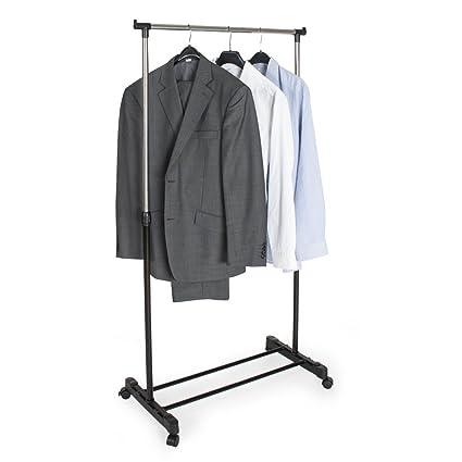 TecTake Perchero colgador percha ropa para con ruedas ...