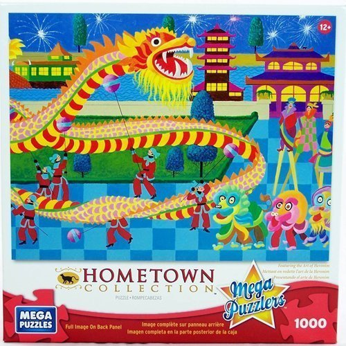 HOMETOWN COLLECTION Solvang 1000 Piece Puzzle