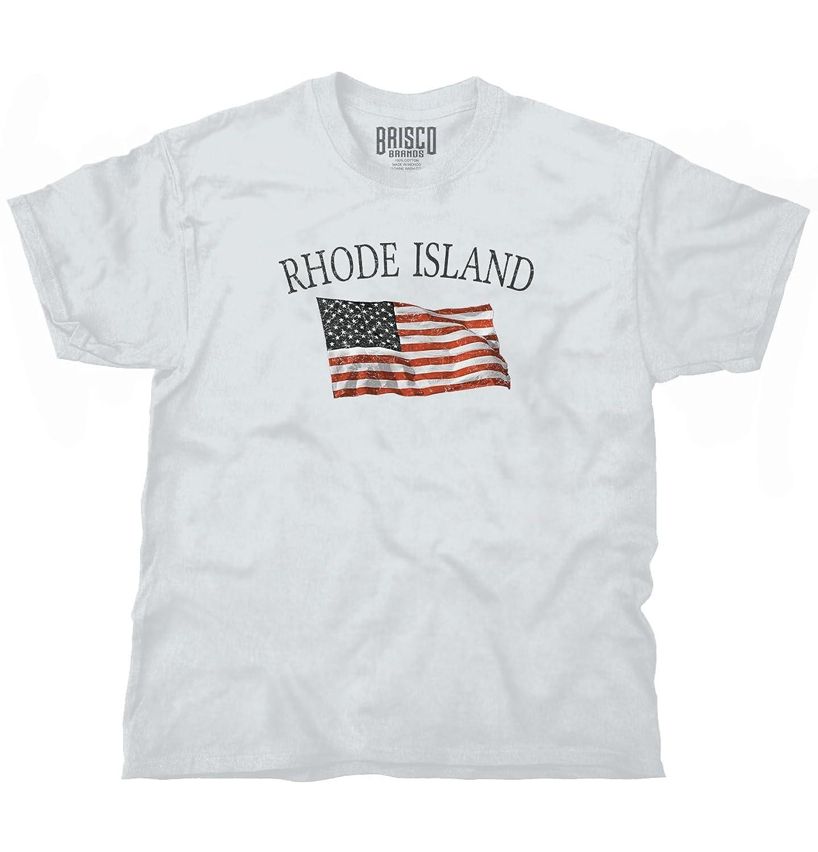 Rhode Island Patriotic Home State American USA T Shirt Graphic T Shirt Tee