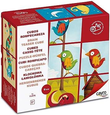Cayro - Cubos Rompecabezas Madera - Juego Tradicional - Desarrollo de Habilidades cognitivas - Juego de Mesa (880): Amazon.es: Juguetes y juegos