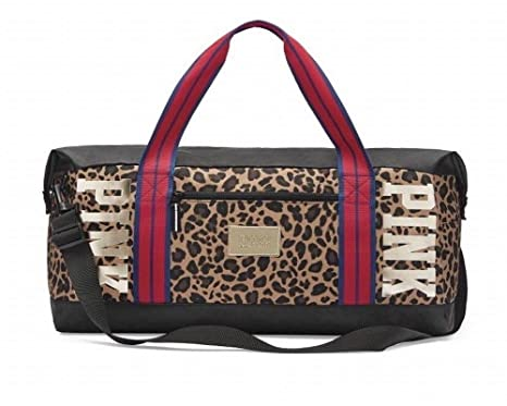 39fdc263d5f1 Image Unavailable. Image not available for. Color: Victoria's Secret PINK duffel  bag ...