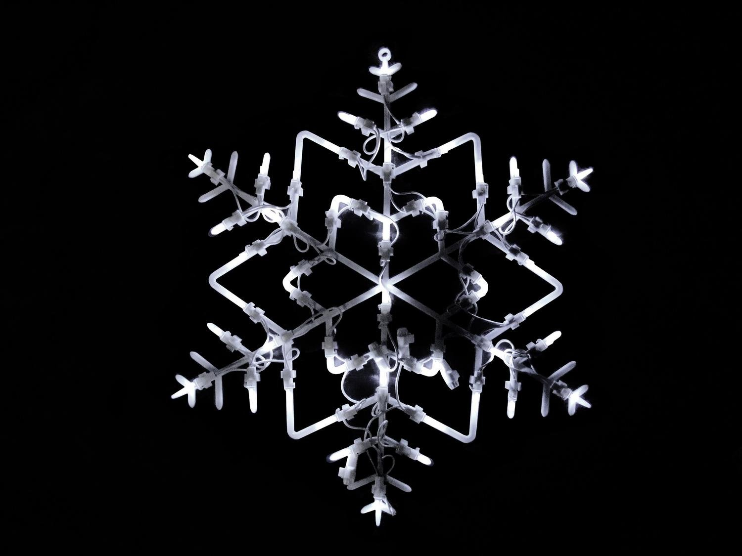 Northlight 18'' LED Lighted Snowflake Christmas Window Silhouette Decoration