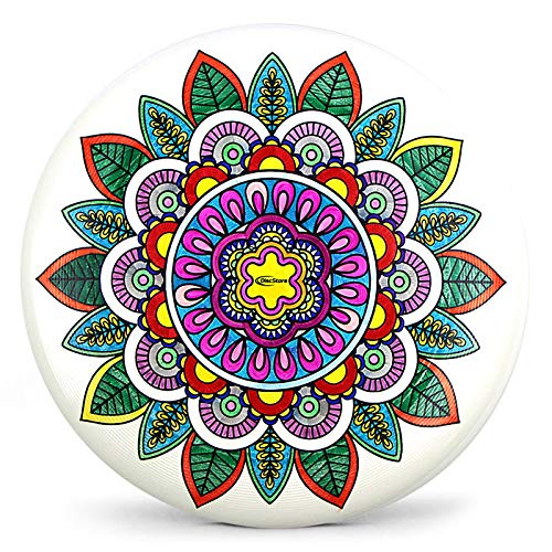 Discraft 175g Supercolor Mandala Coloring Disc Ultra Star - Free Marker! - Disc Comes Uncolored