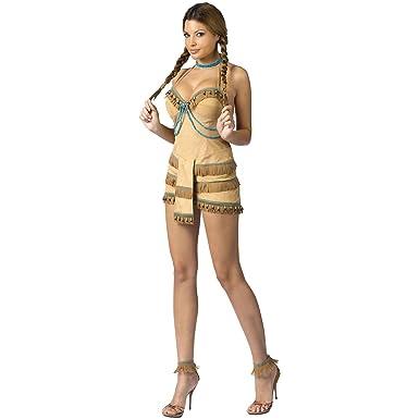d400e7b81 Amazon.com  Adult Sexy Indian Dream Catcher Costume  Clothing