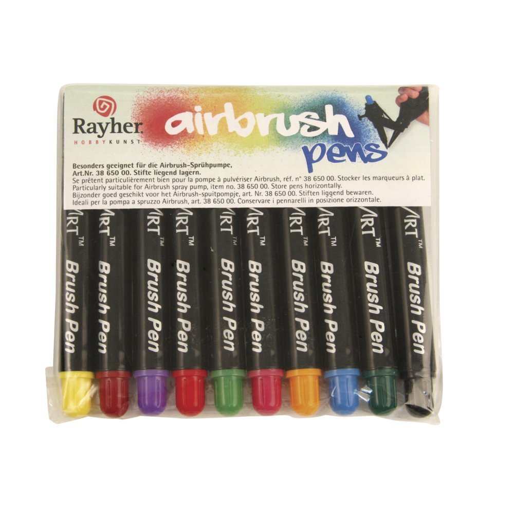 Rayher Air Brush Pens, Multi-Colour Rayher Hobby GmbH 3865149
