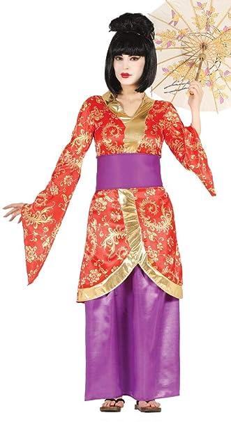 Fiestas Guirca Costume da Geisha Artista Giapponese intrattenitrice  Amazon. it  Giochi e giocattoli 9206ff72703d