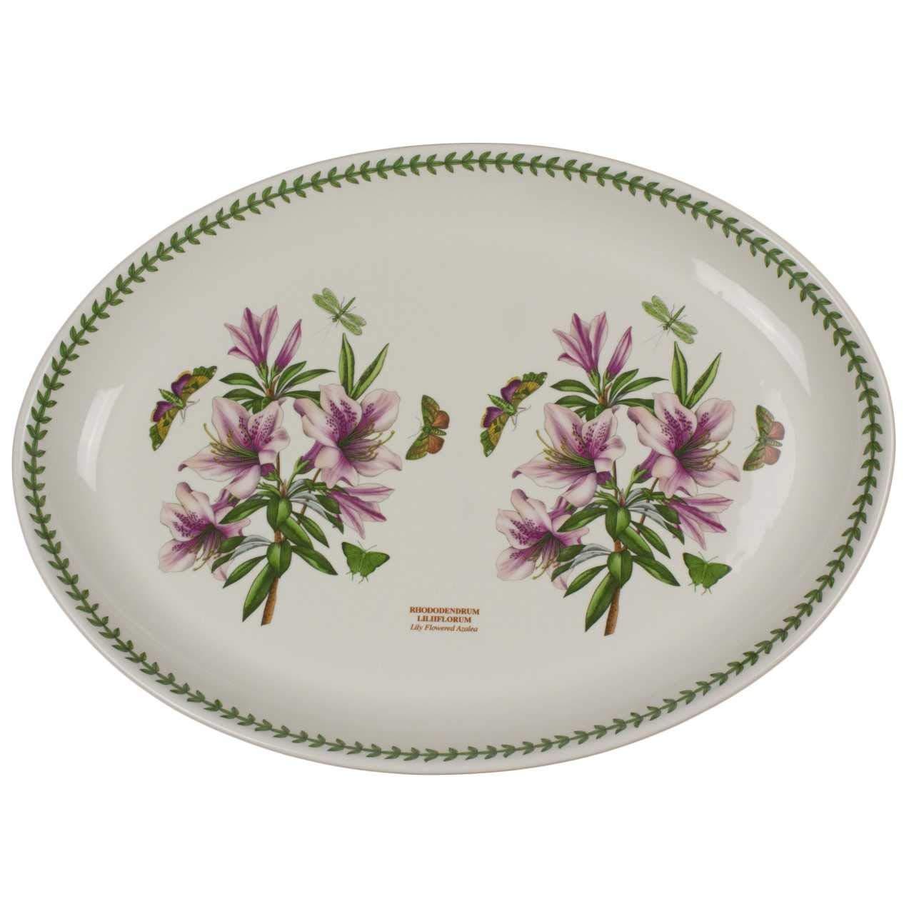 Portmeirion Botanic Garden Turkey Platter Azalea Buy Online In Bahamas At Bahamas Desertcart Com Productid 42030575