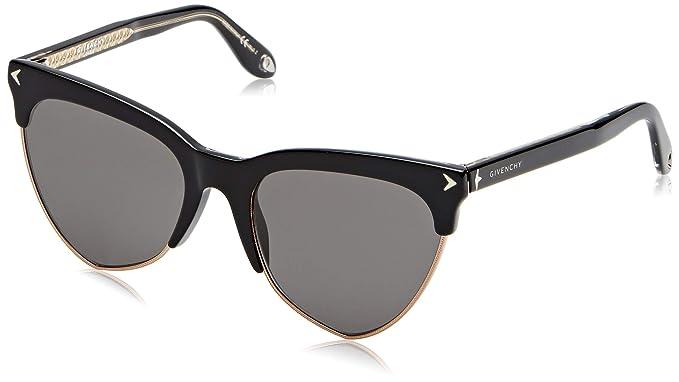 Amazon.com: anteojos de sol Givenchy GV 7078/S 0807 Negro/M9 ...