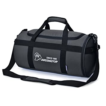 Mardingtop Lightweight Duffel Bag Travel Luggage Weekend Overnight Bags Gym For