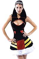 Dear-lover Women's Queen of Hearts Costume