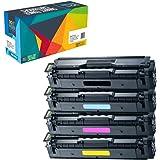 Doitwiser kompatible Toner als Ersatz für Samsung Xpress SL-C1810W SL-C1860FW CLX-4195FN CLX-4195FW CLP-415 CLP-415N CLP-415NW CLP-470 CLP-475 (4 Packung)