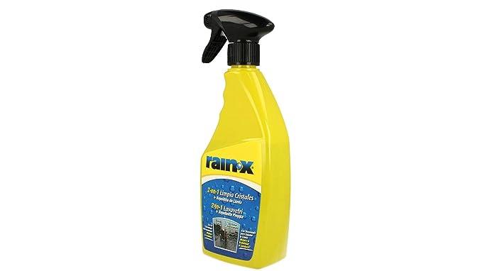Rain X - Limpiacristales 2 en 1 con protección contra la Lluvia para Parabrisas de Coche, 500 ml: Amazon.es: Coche y moto