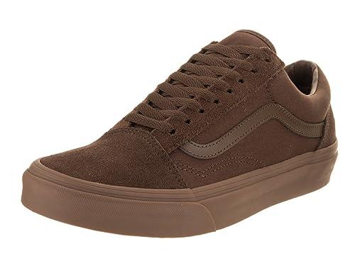 Vans Zapatos Old Skool Dark Earth-Gum (Eu 40.5/Us 8, Marron)