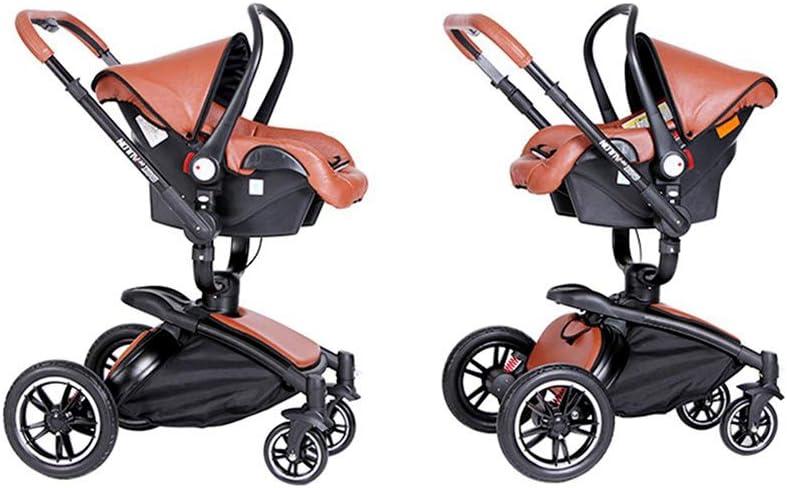 SJZQ Kinderwagen Buggy Sto/ßFester Kinderwagen Mit 360 /° Drehung Kleinkinder Kombikinderwagen Neugeborene 9638