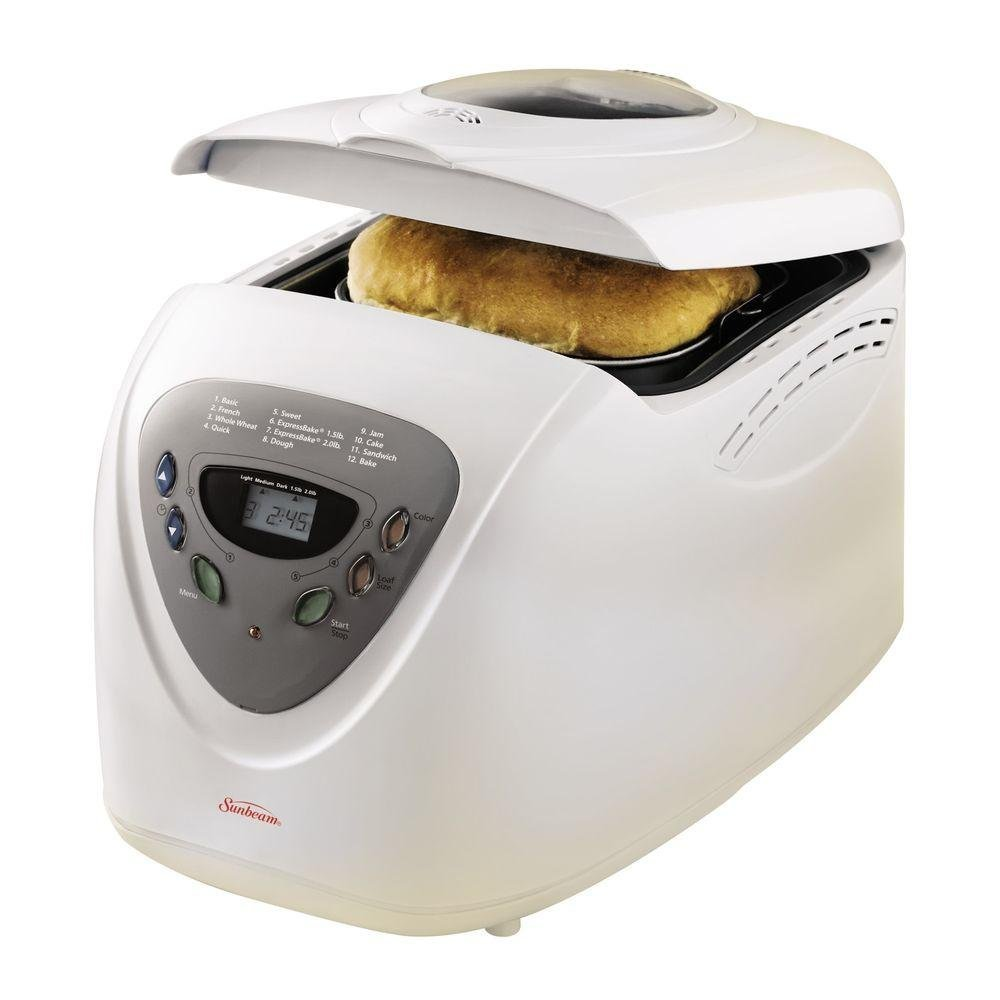 Sunbeam 5891 2-LB BREAD MAKER WITH 58-MIN BREAD SETTING