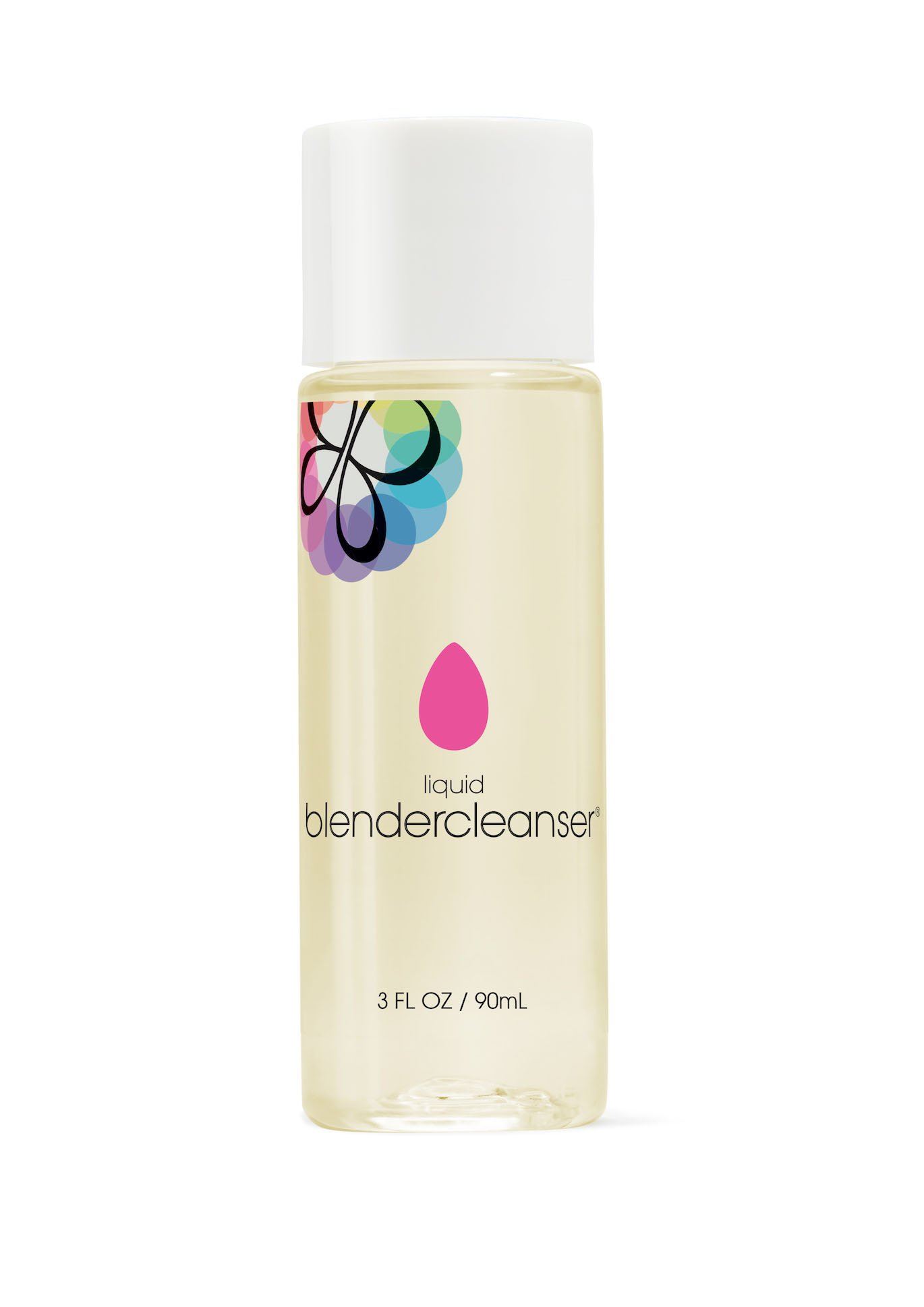 beautyblender liquid blendercleanser, 3 oz: for Cleaning Makeup Sponges & Brushes