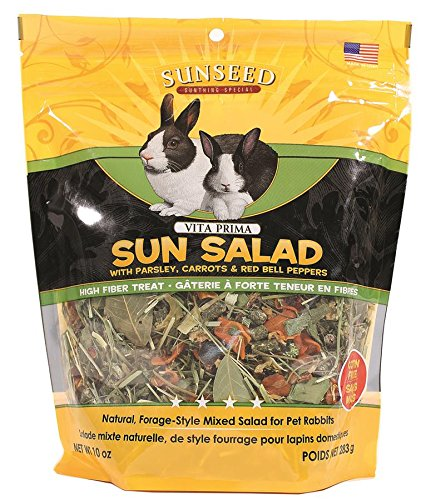 Image of Sunseed Company 36065 Vita Prima Sun Salad For Rabbits, 10 Oz