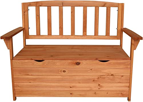 Multifunctional Fir Wood Courtyard Armchair