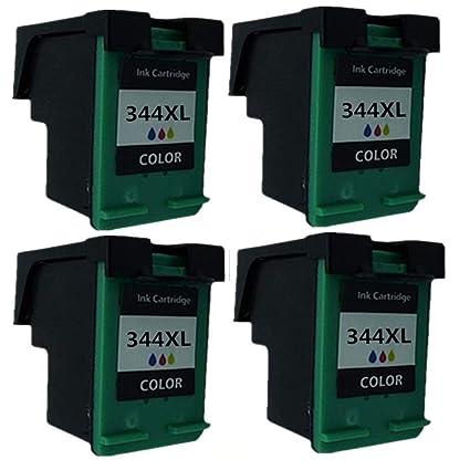 Cartuchos de Tinta remanufacturados para HP 344 XL HP344 ...