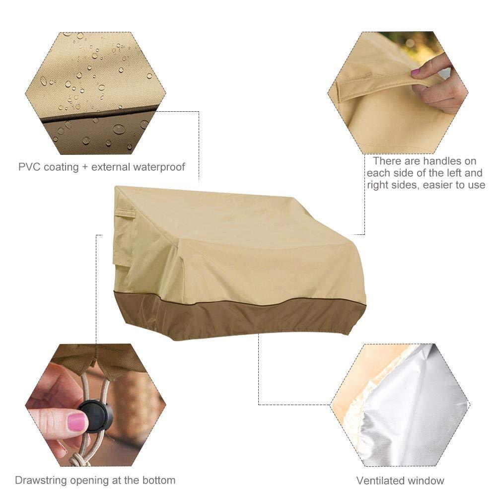 Small Resistente ai Raggi UV Antipolvere Impermeabile per divani e mobili da Esterni Morningtime Copertura Protettiva per mobili da Giardino