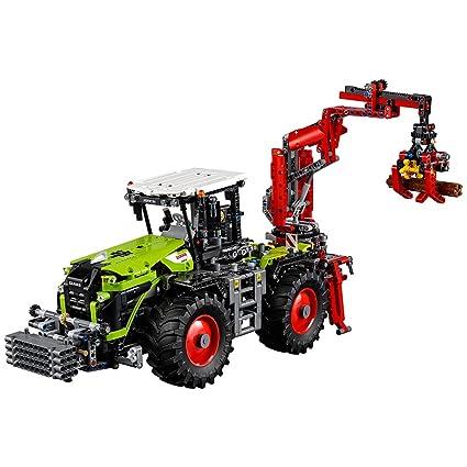 Amazon.com: LEGO Technic CLAAS XERION 5000 TRAC VC 42054 Advanced ...