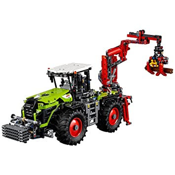 Lego Technic 42054 Claas Xerion 5000 Trac Vc Building Kit 1977