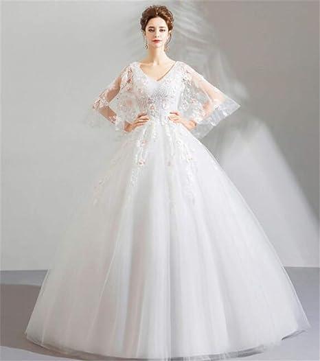 Vestiti Da Sposa Da Principessa.Lyjfsz 7 Abito Da Sera Stile Principessa Fiore Farfalla Abito Da
