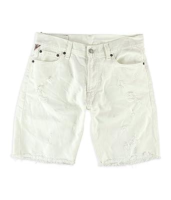230407593fd Denim & Supply Ralph Lauren Men's Straight-Fit Ripped Shorts at ...