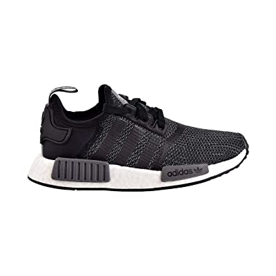 adidas Originals NMD_R1 Shoe - Men's Casual 4 Core Black/Carbon/White | Fashion Sneakers