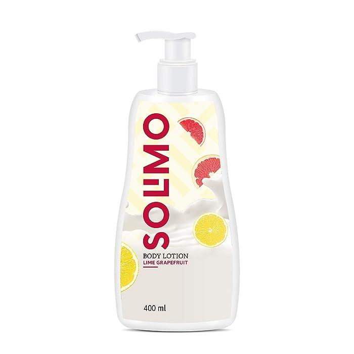Amazon Brand - Solimo Lime Grapefruit Body Lotion, 400ml