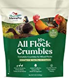 Manna Pro All Flock with Probiotics Crumble | Formulated with Vitamins and Minerals to Support a Balanced Diet | 8…