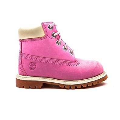 Timberland Infant Girls 6 Inch Premium Boots in Pink  Amazon.co.uk ... 9802576404e7