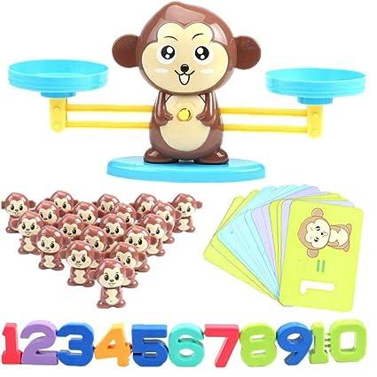 Feewerain Brettspiel Affe Spiel Mathe Balancing Skala Toy