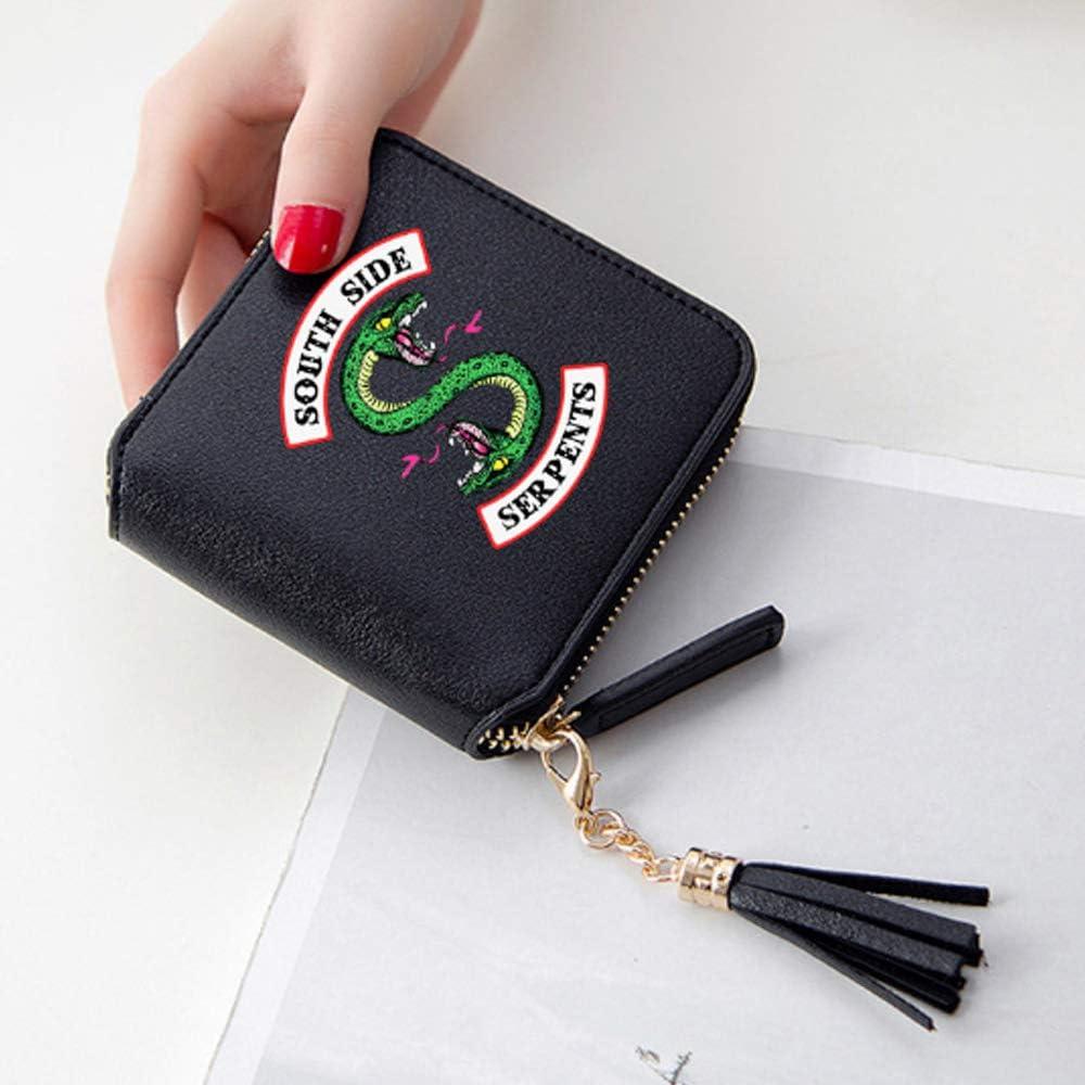 yoggoo Riverdale Wallet Clutch Southside Serpents PU Leather Wallet Lady/'s Kid Wallet TV Show Card Wallet Card Bag